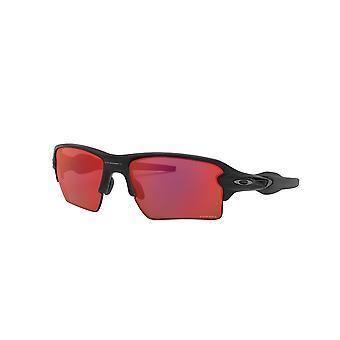 Oakley Flak 2.0 XL OO9188 A7 Matte Black/Prizm Trail Torch Sunglasses