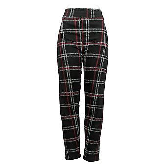 Cuddl Duds Leggings Fleecewear Stretch Negro A369295