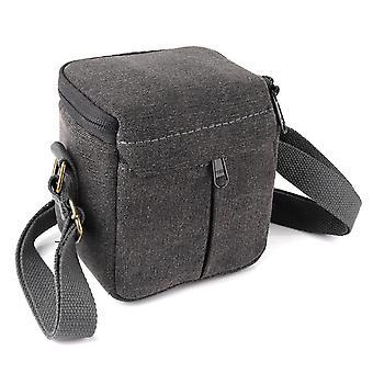 Outdoor canvas camera bag for canon sony micro single storage bag
