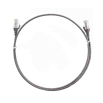 8Ware Cat6 Ultra Thin Slim Cable 50Cm Grey