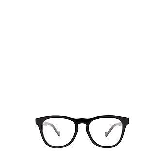 Moncler ML5101 gafas masculinas negras brillantes