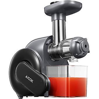 HanFei Entsafter Slow Juicer, leistungsstarker Entsafter für Obst und Gemüse mit Rücklauffunktion,
