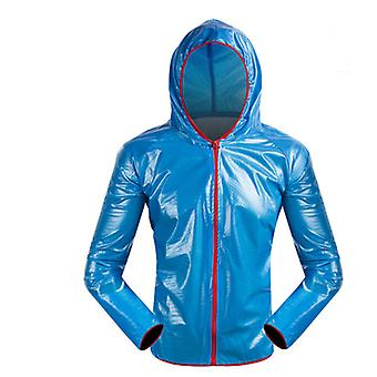 Split biciclete în aer liber impermeabil raincoat pantaloni de ploaie, de călătorie, camping, drumetii adult raincoat set
