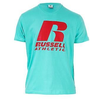Men's Russell Athletic Crew T-Shirt in Blue