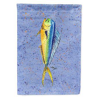 Caroline's Treasures 8349Gf Fish Dolphin Flag, Piccolo, Multicolore