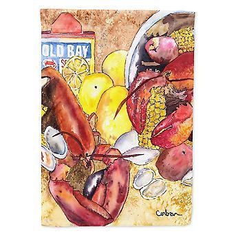 Caroline's Treasures 8719Chf Lobster Bake Con old bay seasonings Flag Canvas, Grande, Multicolore