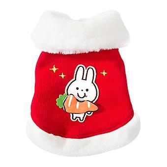 ملابس الحيوانات الأليفة القط القطن مبطن الملابس عيد الميلاد الخريف والشتاء سترة ملابس الحيوانات الأليفة الدافئة