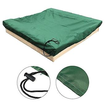 150*150Cm green sandbox cover with drawstringsquare dust-proof beach sandbox coverwaterproof sandpit swimming pool cover x22