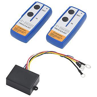 télécommandes vidaXL pour treuils 2 pcs avec récepteur