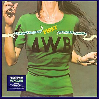 Bande blanche moyenne - Put It Where You Want It Vinyl