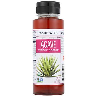 Made With Agave Nectar Amber Org, Case of 6 X 11.75 Oz