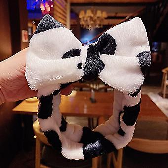 Wash Face Hair Holder Hairbands Coral Fleece Girls Turban Fashion Hair Accessories(59#)