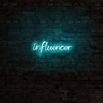 Influencer - Blå blå vägglampa