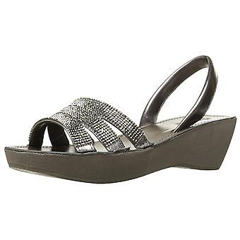 Kenneth Cole Reaction Womens Fine Jewel Open Toe Casual Slingback Sandals