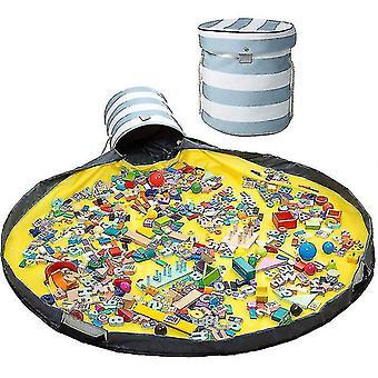 Lelujen tallennustilan järjestäjä ja pelaa mattoa Suuri aktiivisuuskorisäiliö (raita)