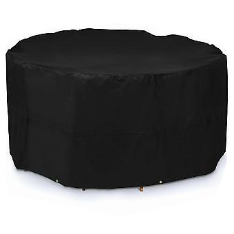 Silktaa outdoor ronde tafel meubels stofdichte cover waterdicht en Uv-bescherming