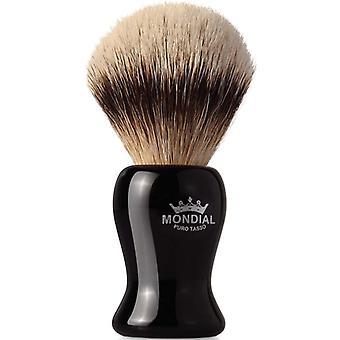 Mondial 1908 Silvertip grævling Shave Brush Gibson 22mm