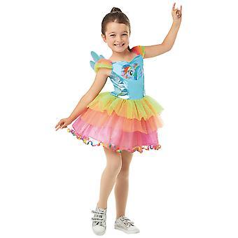 Rainbow Dash Deluxe My Little Pony Cartoon Book Week Child Girls Costume