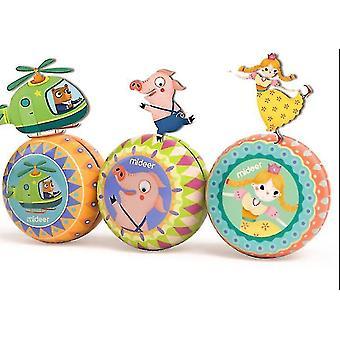 子供のすんよよ おもちゃ懐かしいクラシックヨーヨー子供の指スポーツのおもちゃ(GROUP1)