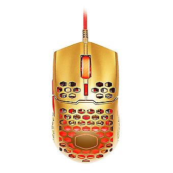 Mouse con cavo ultraweave golden ergonomic game mouse ultraweave