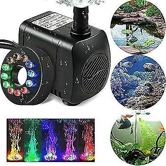 Pool  fountain pond pumps led light electric submersible fountain water pump pond pool garden