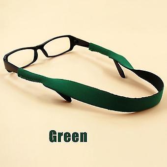 Lunettes sangles chaînes 38cm lunettes de sport chaîne corde lunettes chaîne lunettes porte-lunettes de soleil coton col lunettes