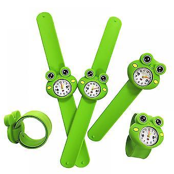 Crianças Quartzo Relógio Tapa Pulso Brinquedos Personagem Sapo
