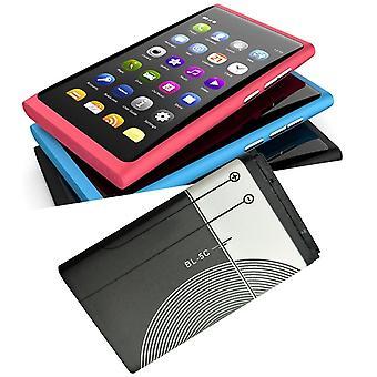 Wymiana baterii litowej 1020mah 3.7v 3.8 Wh Dla Nokia Bl-5c litowo-jonowe