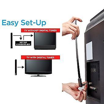 Schwarz Digital Aerial Clear TV Key Hdtv Free Tv Stick 1080p Hd Indoor TV Antenne