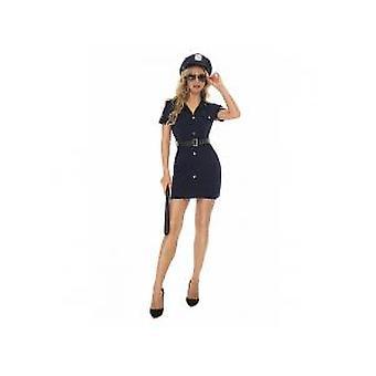 Halloween Party Weibliche PolizeiLehrerin Schauspielkleid, Nachtclub Party Ds Performance Uniform
