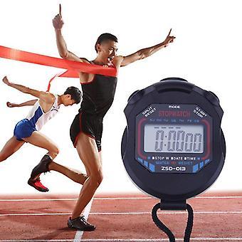Kuchnia Odliczanie Sportowy stoper Ręczny cyfrowy wyświetlacz LCD Sportowy stoper Licznik czasu z paskiem