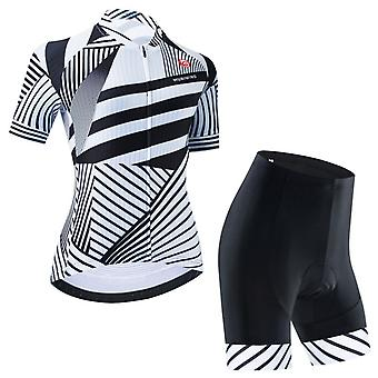 Woman Short Sleeve Mtb Road Bike Jersey