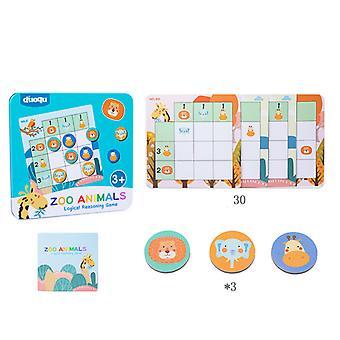 Magnetisk Sudoku Game Board Pædagogisk Logisk Tænkning Uddannelse Legetøj