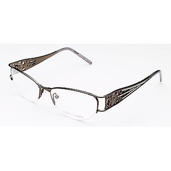 Micro Pad Eyeglasses ematite Judith Leiber femminile
