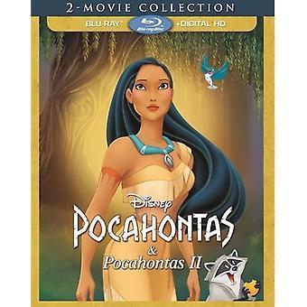 Pocahontas 2-Movie Collection [Blu-ray] USA import