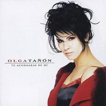 Olga Tanon - Te Acordaras De MI [CD] USA import