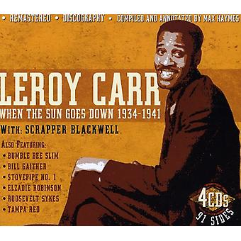 Leroy Carr - When the Sun Goes Down 1934-41 with Scra [CD] USA import