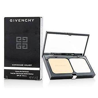 Givenchy Matissime fløyel Radiant mat Powder Foundation SPF 20-#03 matte perle-9g/0.31 oz