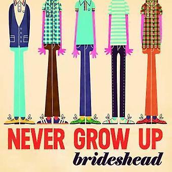 Brideshead - Never Grow Up [CD] USA import
