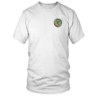 US Air Force 71e Air Commando Squadron - militaire Vietnamoorlog geborduurde Patch - Mens T Shirt