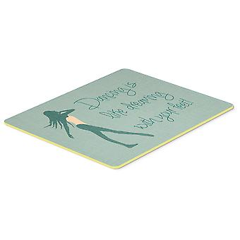Dancing is Like Dreaming #2 Kitchen or Bath Mat 20x30