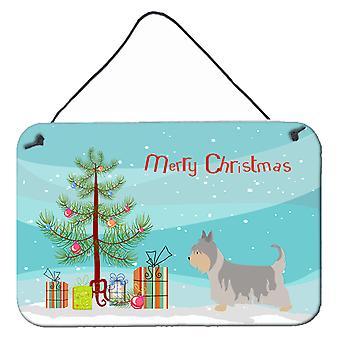 Australian Silky Terrier Christmas Wall or Door Hanging Prints