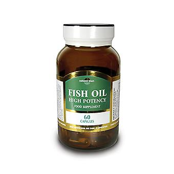 Natures Own High Potency Fish Oil, 60 caps