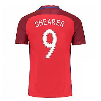 2016-17 Engeland weg Shirt (Shearer 9) - Kids