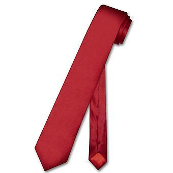Biagio 100 % Seide schmale Krawatte dünne Männer 2.5