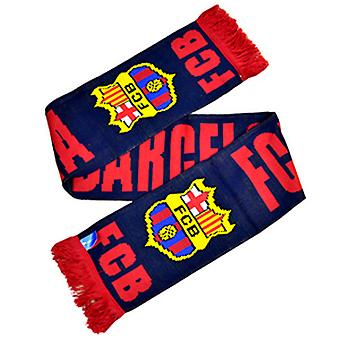 FC Barcelona Official Football Crest Winter Scarf