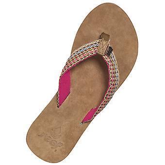 Sandales en cuir De tsigane de récif en rose