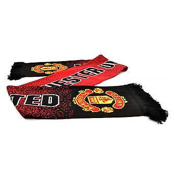 Manchester United FC unisexe adultes foulard moucheté