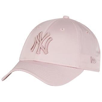 עידן חדש 9Forty כובע נשים-סאטן ניו יורק יאנקיז ורוד