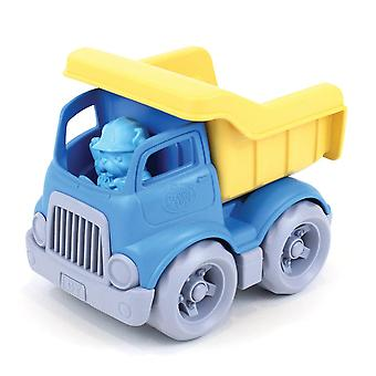 Green Toys Dumper Truck with Figure BPA Free 100% Recycled Construction Toy